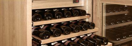 Охлаждаемые винные шкафы